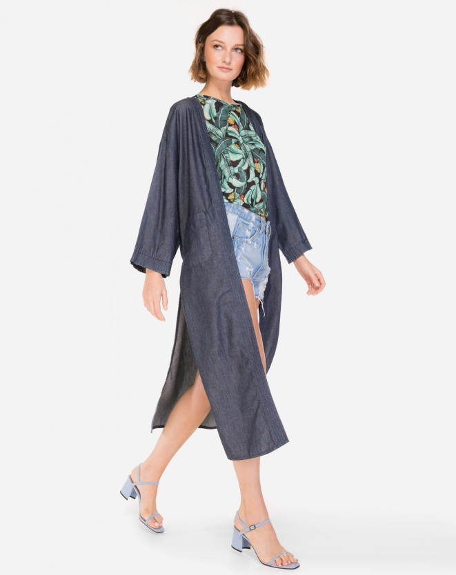 Kimono Jeans Fashion