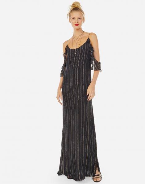 Vestido de festa preto online